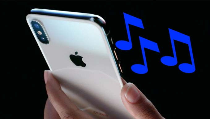 set custom ringtones on iphone 8
