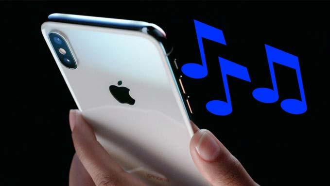 set custom ringtones on iphone 8