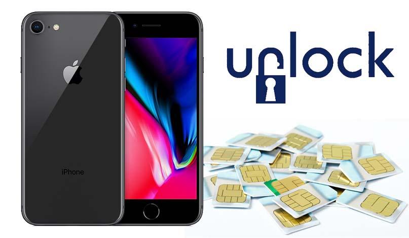 unlock iphone 8
